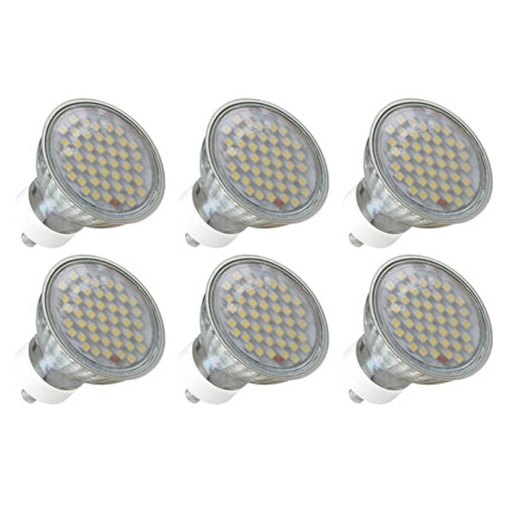 6 x 3 W LED bodový reflektor