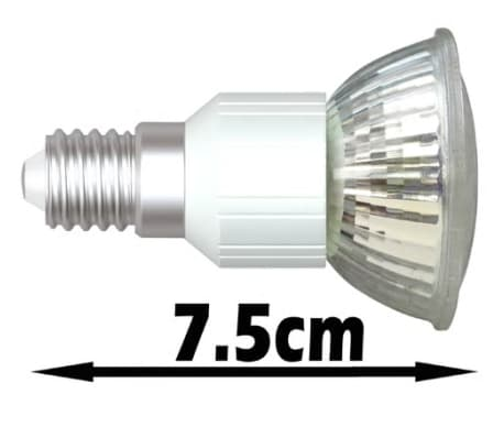 lampadine faretti led 12 pz e14 45 led bianco