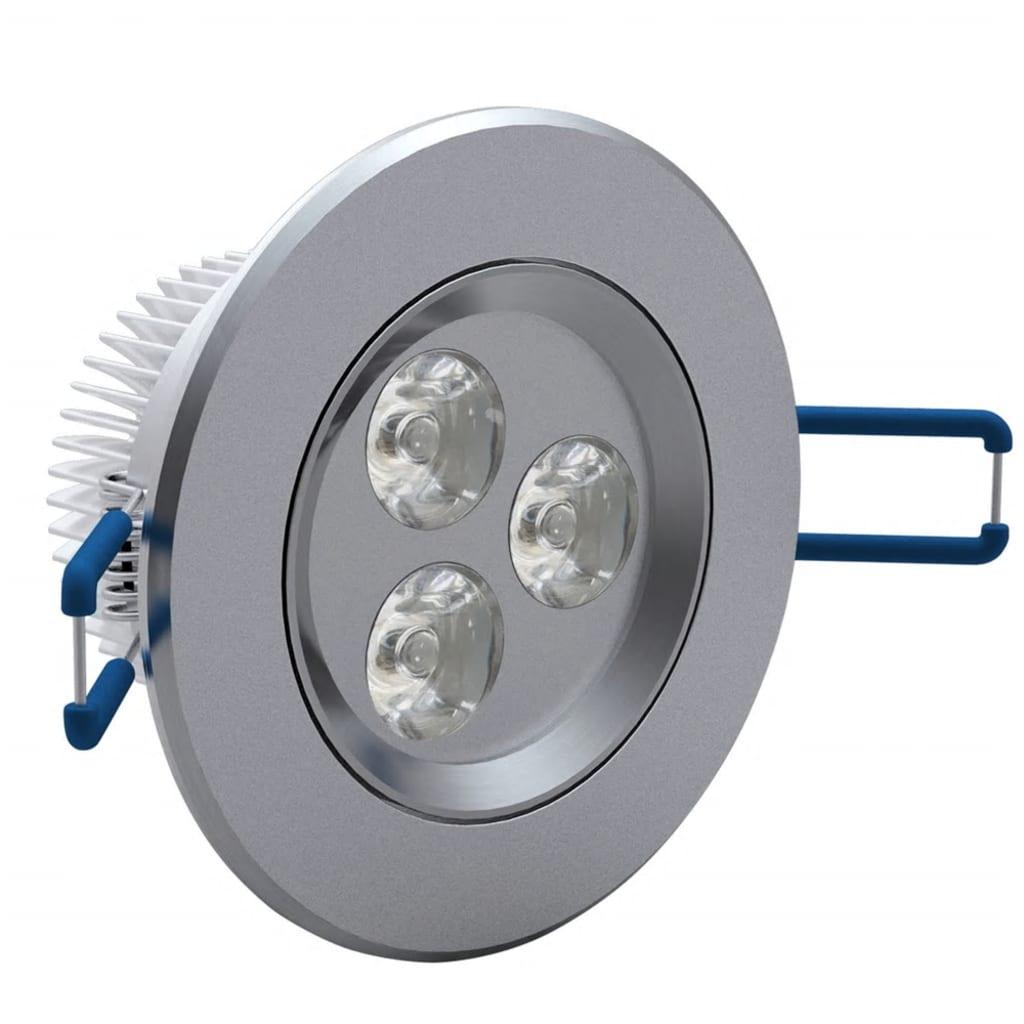 Bodová LED světla 3 W 12 ks