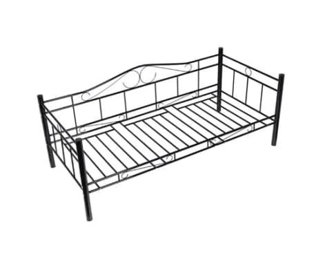 Metalen Bedframe 1 Persoons.1 Persoons Bed Van Metaal 90 X 200 Cm Online Kopen Vidaxl Nl