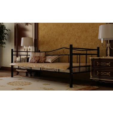 1 persoons bed van metaal 90 x 200 cm15