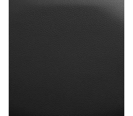 vidaXL Fotoliu de masaj electric cu telecomandă, negru[8/10]