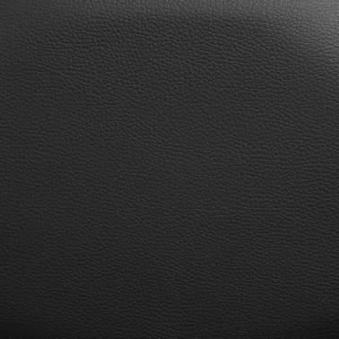vidaXL Elektrické masážní křeslo s ovládáním, černé[8/10]