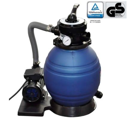 vidaXL sandfilterpumpe 400 W 11000 l/t[1/5]