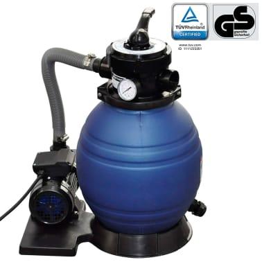vidaXL Pompa con Filtro a Sabbia 400 W 11000 l/h[1/5]