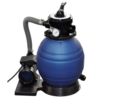 vidaXL Sandfilterpumpe 400 W 11.000 L/h[2/5]
