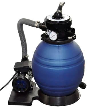 vidaXL Pompa con Filtro a Sabbia 400 W 11000 l/h[2/5]