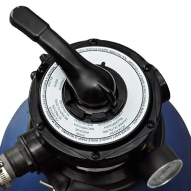vidaXL sandfilterpumpe 400 W 11000 l/t[3/5]