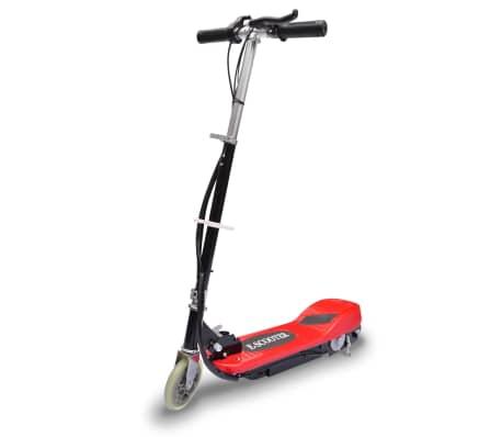 vidaXL piros elektromos roller 120 W -picture