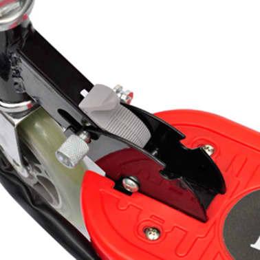 vidaXL Elektrische step 120 W rood[4/5]