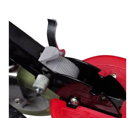 vidaXL Elektrisk sparkcykel med sadel 120 W röd[3/6]