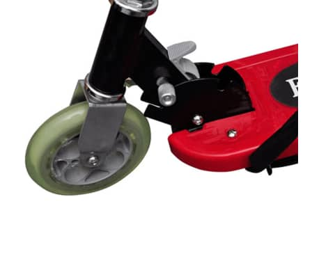 vidaXL Electric Scooter with Seat 120 W Red[4/6]