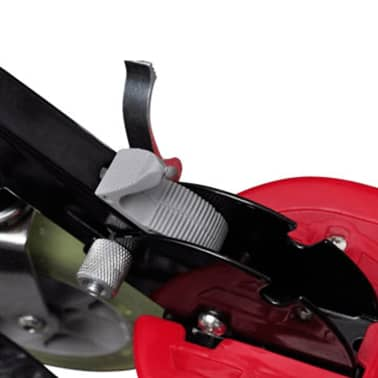 vidaXL Electric Scooter with Seat 120 W Red[3/6]