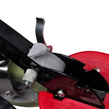 vidaXL Elsparkcykel med sadel 120 W röd[3/6]