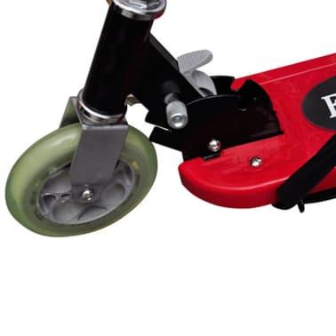 vidaXL Elektrisk sparkcykel med sadel 120 W röd[4/6]
