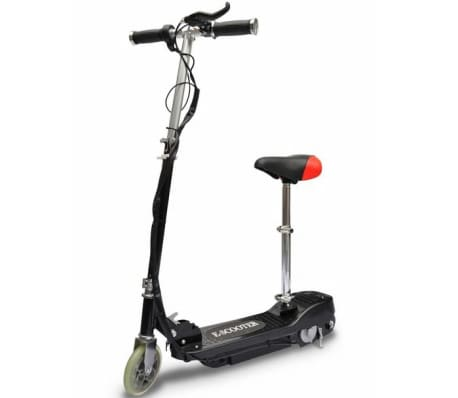 vidaXL Electric Scooter with Seat 120 W Black[1/6]