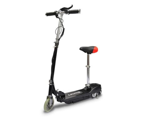 vidaXL Electric Scooter with Seat 120 W Black[3/6]