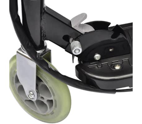 vidaXL Electric Scooter with Seat 120 W Black[4/6]