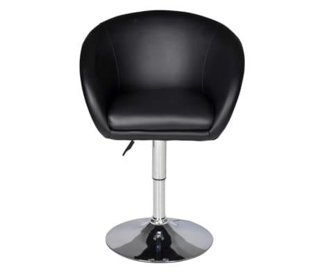 Acheter fauteuil rond pivotant odyssey noir lot de 2 pas - Fauteuil rond pivotant ...