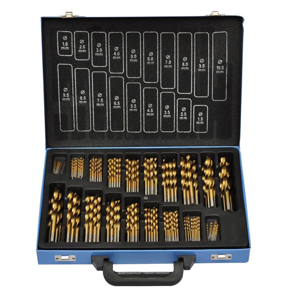 999140170 HSS Bohrer Set 170-teilig titan-beschichtet