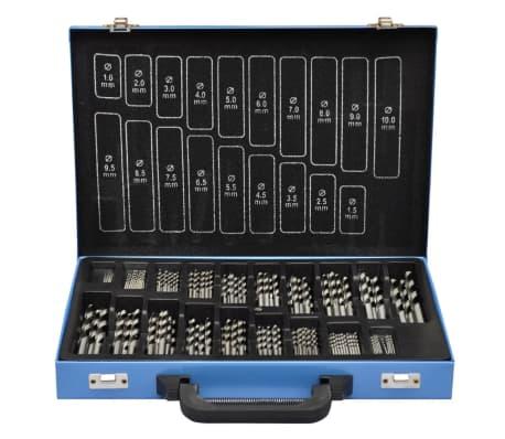 Conjunto de Brocas de Titânio com Caixa de Metal HSS TI ,170 peças[1/3]