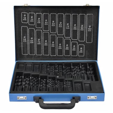 HSS-R Twist Drill Set 170 Dele[1/3]