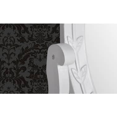 vidaXL Toaletka z MDF z obrotowym, owalnym lustrem[4/6]