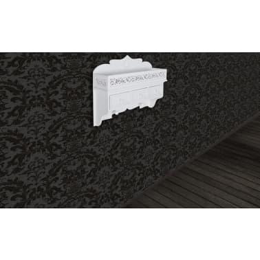 vidaXL Wall Mounted Shelf with 3 Drawers[3/7]