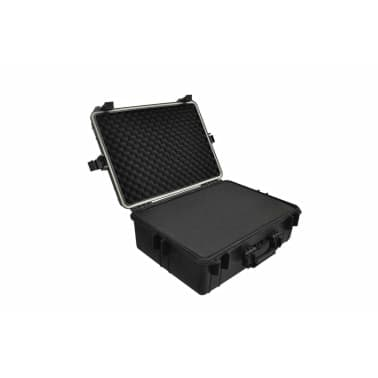vidaXL Transport Hard-Case Black w/ Foam 9.2 gal capacity[1/5]