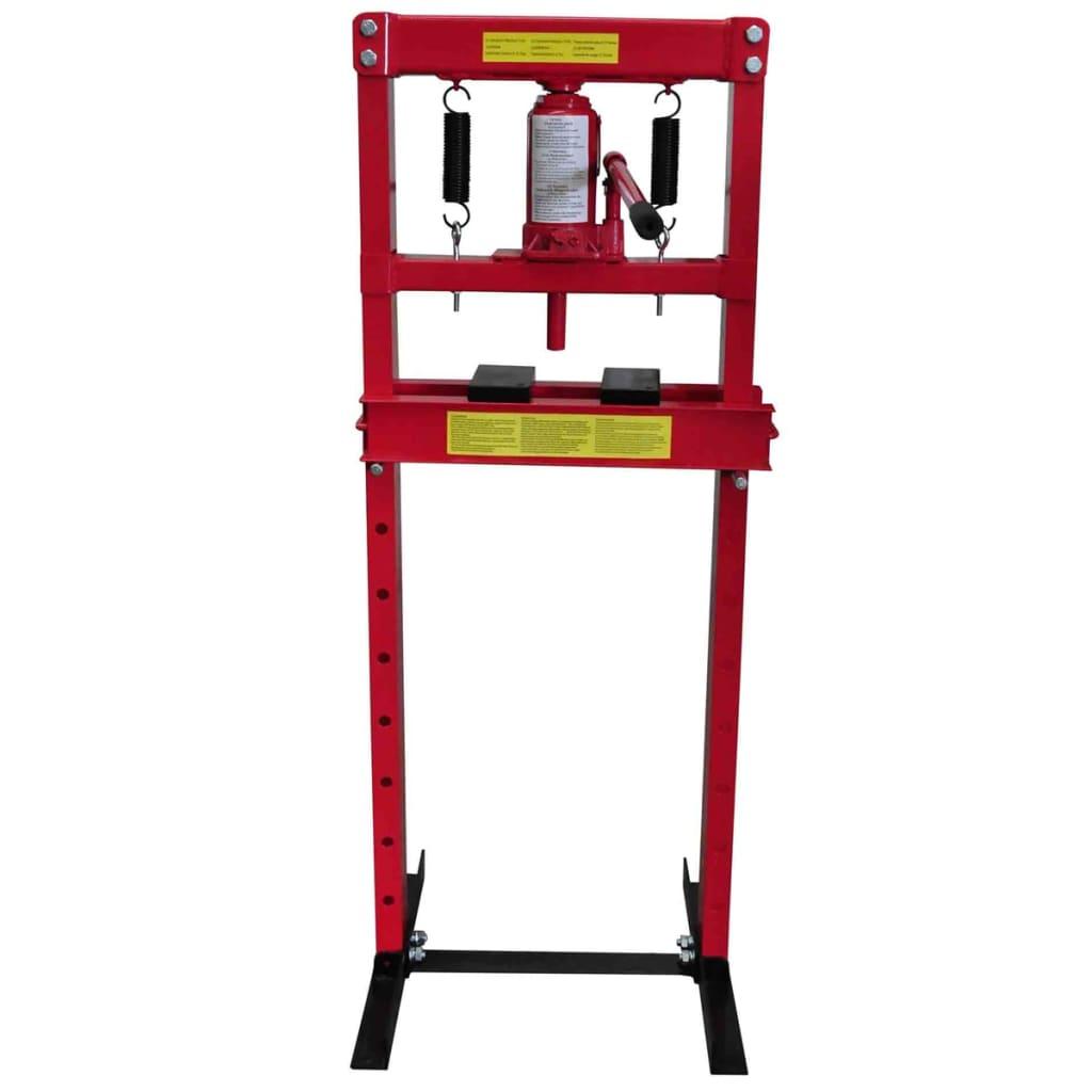 99140208 Hydraulische Werkstattpresse mit 12 t Pressdruck