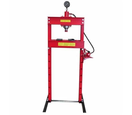 20 Ton Air Hydraulic Floor Shop Press H Type[2/5]
