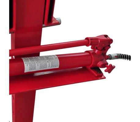 20 Ton Air Hydraulic Floor Shop Press H Type[3/5]