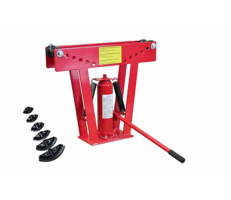 12 Ton Hydraulic Tube Rod Pipe Bender with 6 Dies