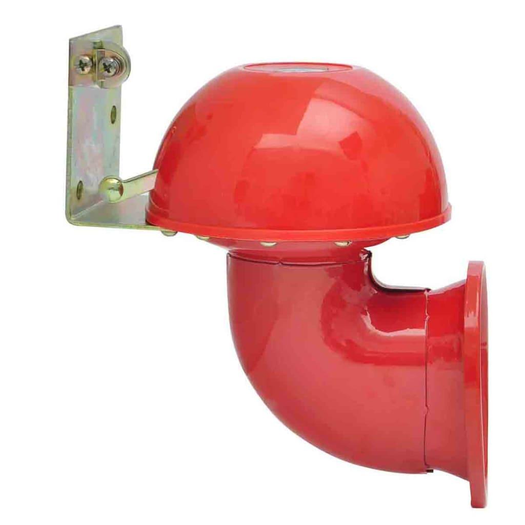 bullhorn nebelhorn bull horn fanfare hupe kuhhupe rot 12v. Black Bedroom Furniture Sets. Home Design Ideas