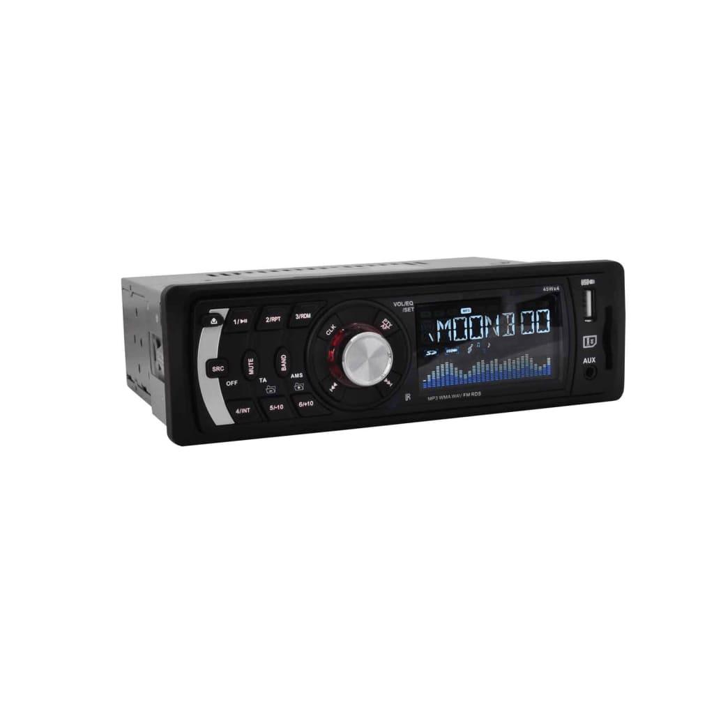 vidaXL Autorádio MP3 USB SD AUX 4 x 45 W RDS digitální auto přehrávač