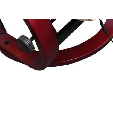 vidaXL Masažinis krėslas su kėdute kojoms, elektrinis, dirbt. oda, krem.[3/9]