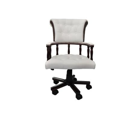 Krzesło biurowe Fotel kapitański Chesterfield[2/6]