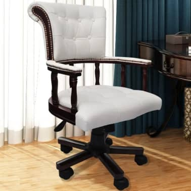 Krzesło biurowe Fotel kapitański Chesterfield[1/6]