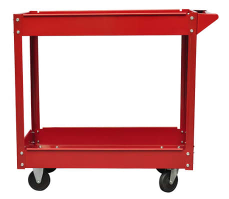 Workshop Tool Trolley 220 lbs. Red[2/4]