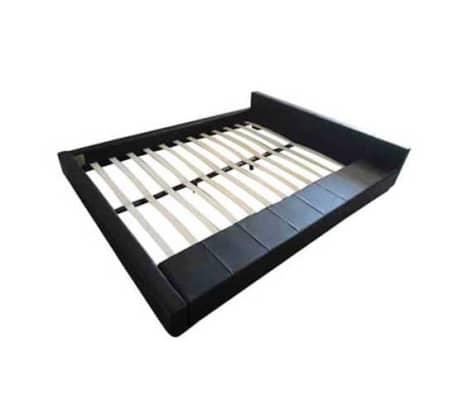 Acheter lit carr en simili cuir 2 personnes king size 180 x 200 cm pas cher - Acheter lit king size pas cher ...