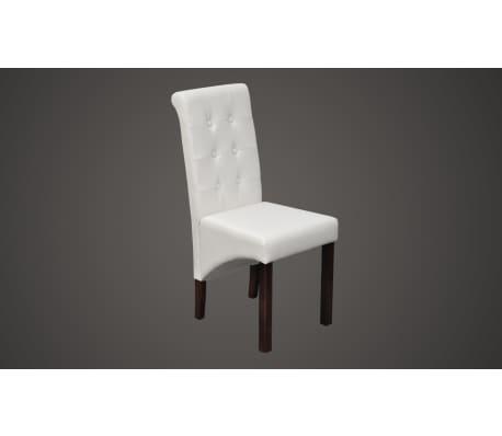 esszimmer st hle klassik 6 stk wei g nstig kaufen. Black Bedroom Furniture Sets. Home Design Ideas