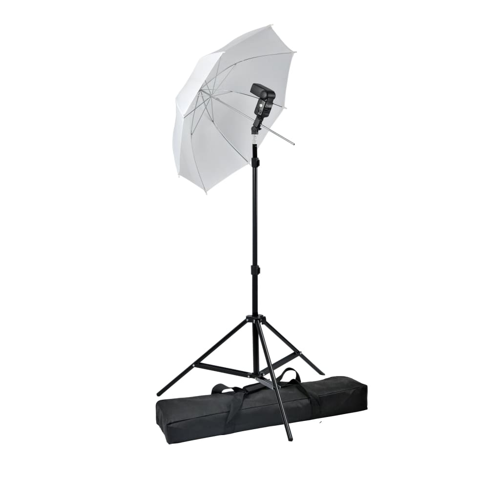 Set studio cu blitz speedlight portabil poza 2021 vidaXL