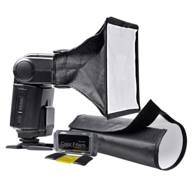 Portable Speedlight Set Tripods Umbrellas Trigger & Receiver Lights[5/6]