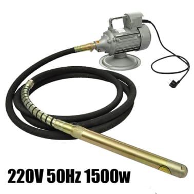 220 V 50 Hz 1500 W Betono Vibratorius su 6 m Žarna[5/6]