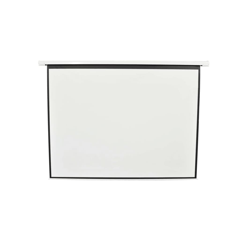 Afbeelding van vidaXL Projectiescherm mat wit 244x183 cm met motor