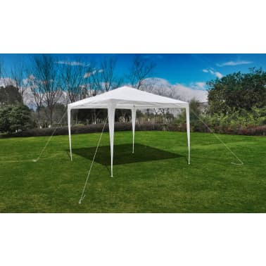 vidaXL Gartenpavillon mit Pyramidendach 3 x 3 m[3/6]