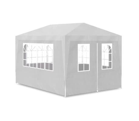vidaXL Party Tent 10'x13' White