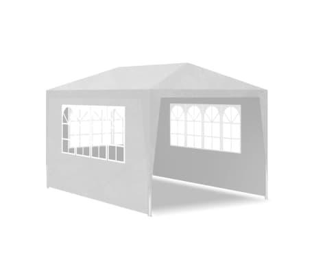 vidaXL Tenda para festas 3x4 m branco[4/7]