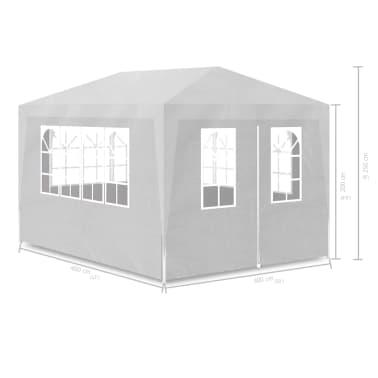 vidaXL Tenda para festas 3x4 m branco[7/7]