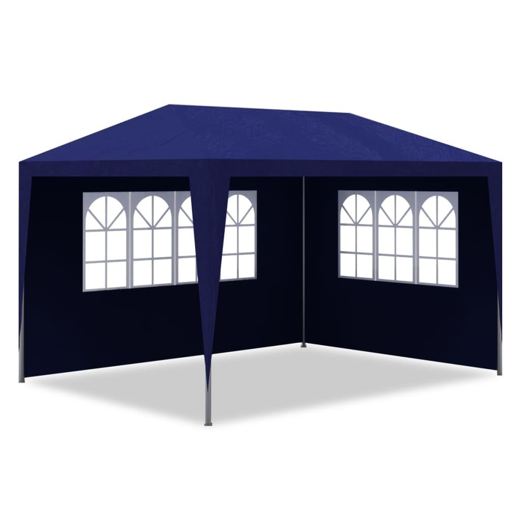 Partytent 3x4 m blauw